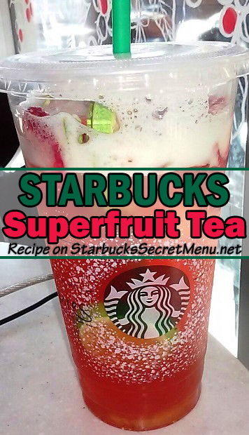 starbucks superfruit tea