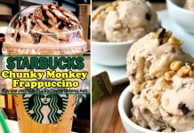 Starbucks Chunky Monkey Frappuccino