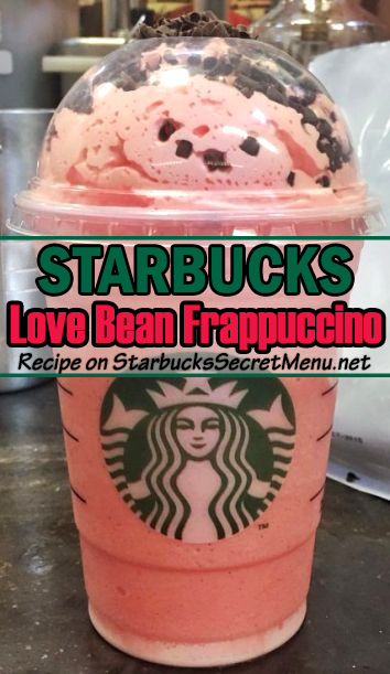 love bean frappuccino