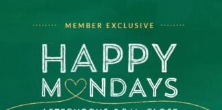 starbucks happy mondays