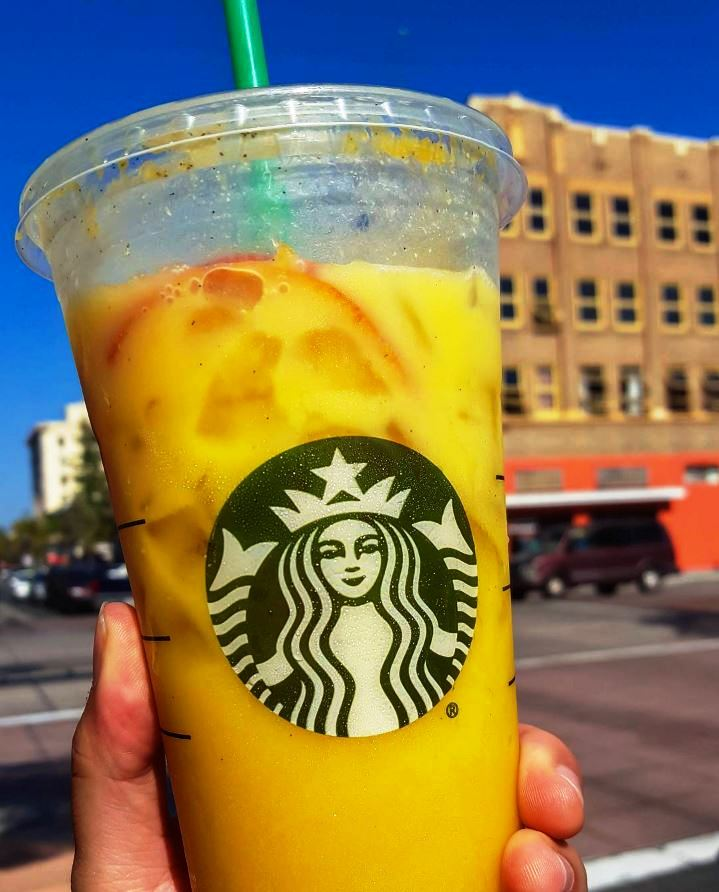orange drink starbucks secret menu