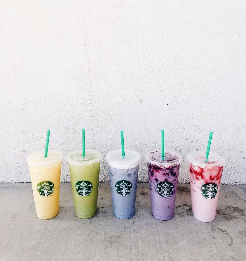 starbucks secret menu taste the rainbow