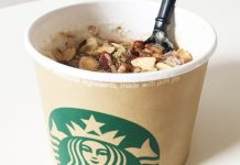 Starbucks Secret Menu Oatmeal Latte
