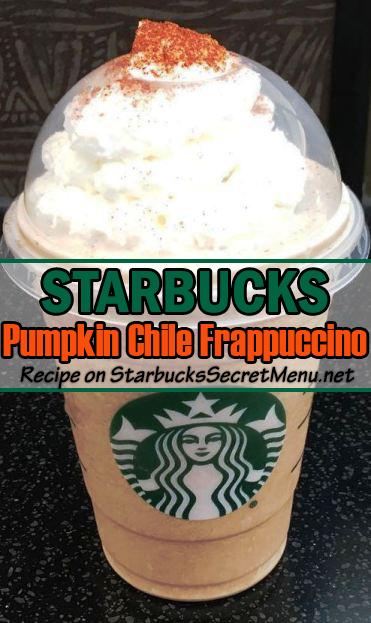 Pumpkin Chile Frappuccino