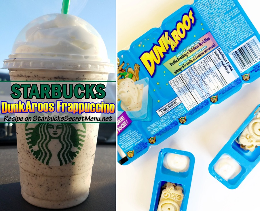 Starbucks Dunkaroos Frappuccino Starbucks Secret Menu