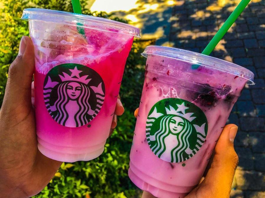 Starbucks Secret Violet Drink