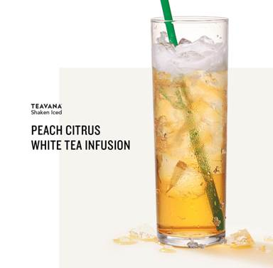 Peach Citrus White Tea Infusion