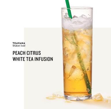 Peach Citrus White Tea Infusion