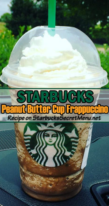 Peanut Butter Cup Frappuccino