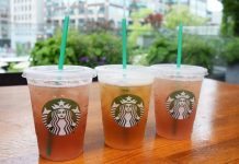 Starbucks tea infusions