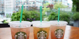 Starbucks tea infusions