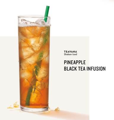 pineapple black tea infusion