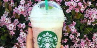 Cherry Blossom Frappuccino featured