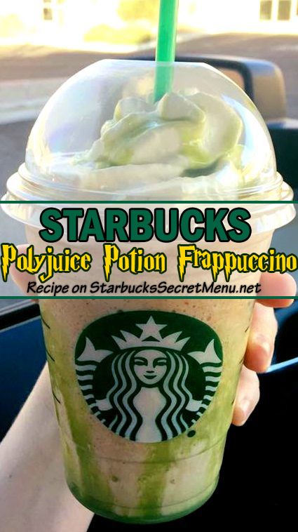 Polyjuice Potion Frappuccino