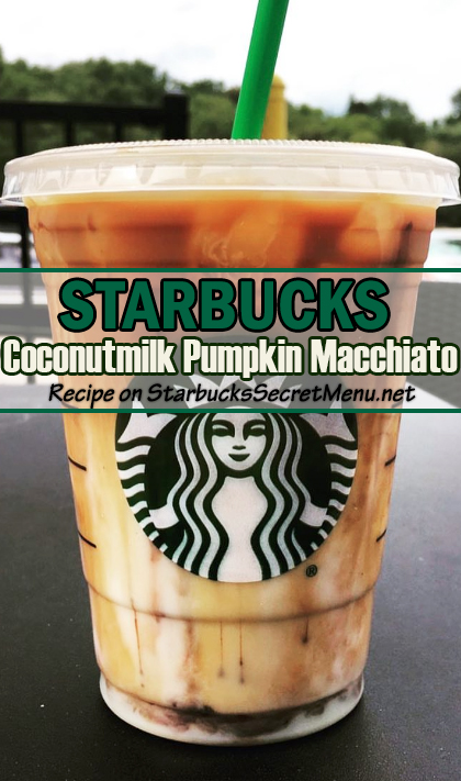 Coconutmilk Pumpkin Macchiato