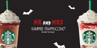 Mr and Mrs Vampire Frappuccino