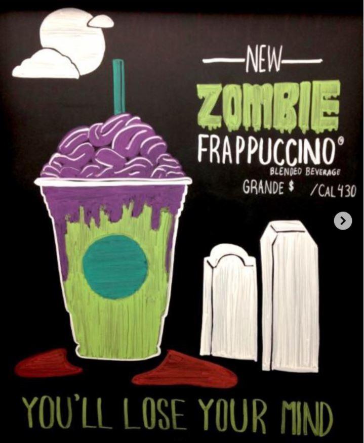 Zombie Frappuccino