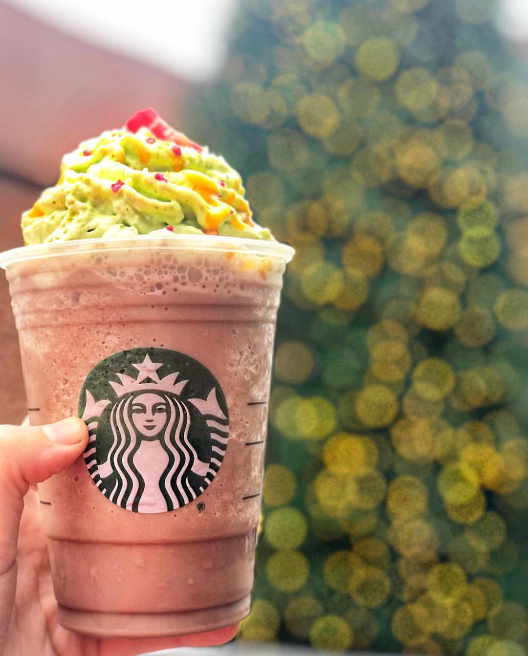 Christmas Tree Frapp