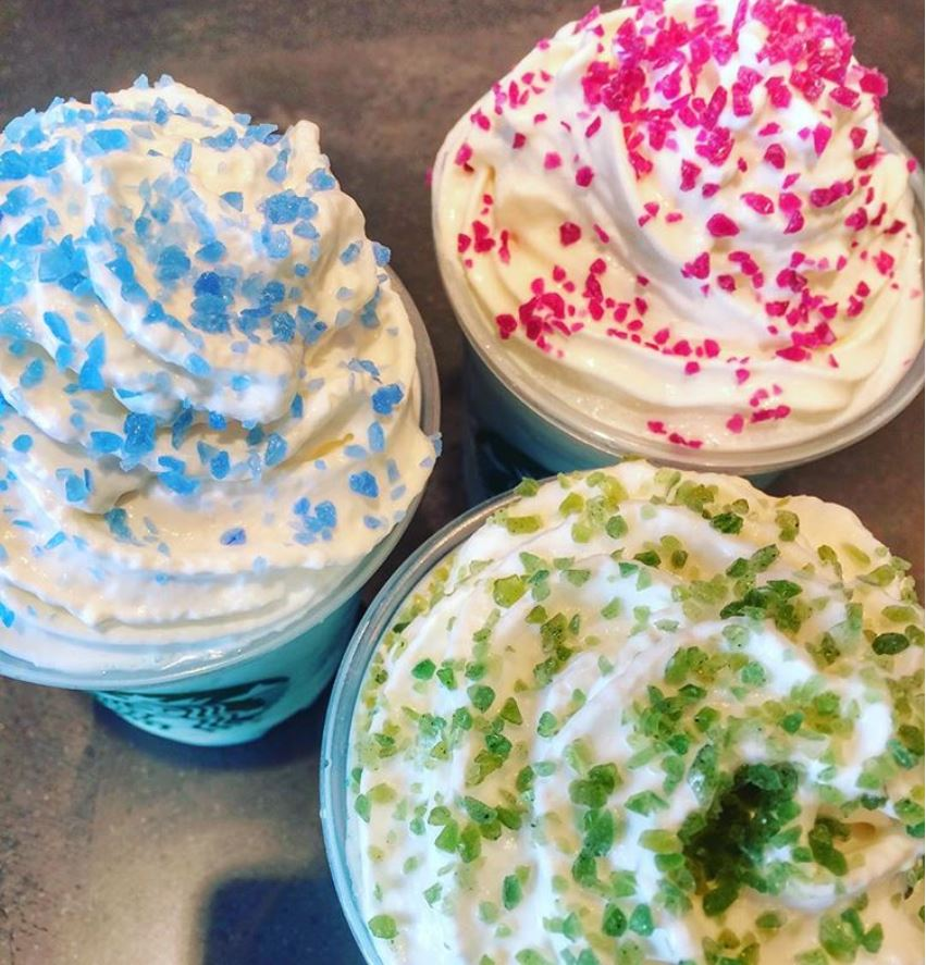 Crystal Ball Frappuccino Sprinkles