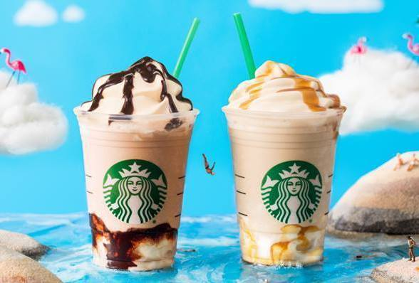 New frappuccinos 2018