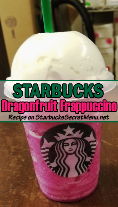 Dragonfruit Frappuccino